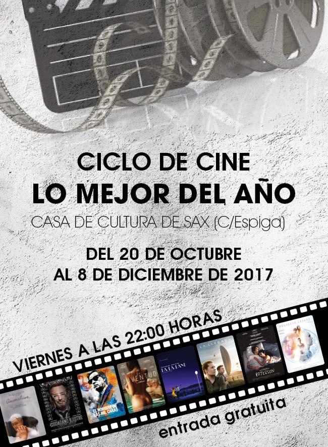 CICLO DE CINE: LO MEJOR DEL AÑO
