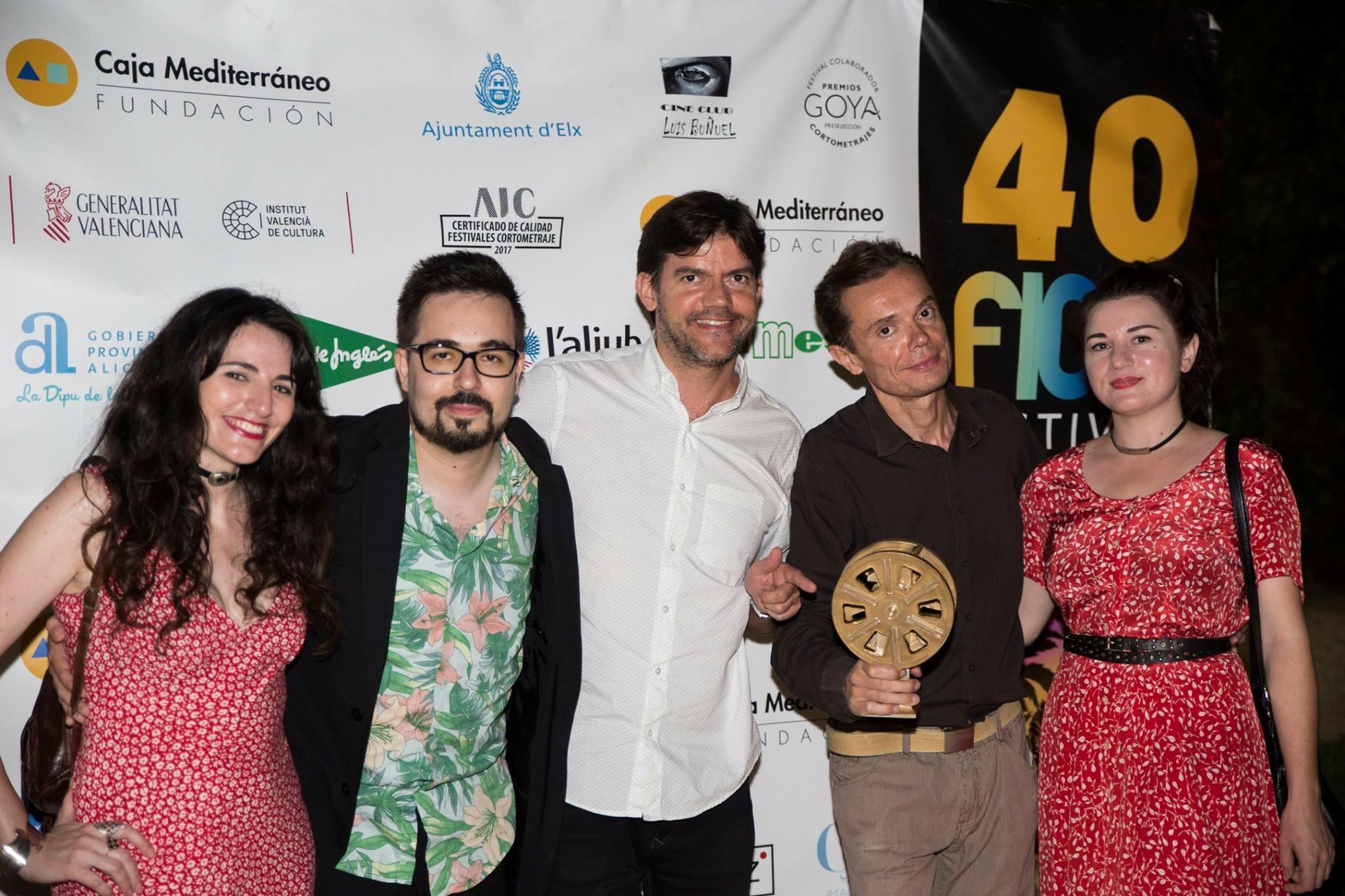 JURADO EN EL 40º FESTIVAL INTERNACIONAL DE CINE INDEPENDIENTE DE ELCHE