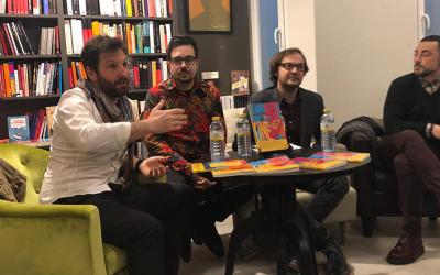 """Presentaciones del libro """"Arte y Cine"""" en Valencia"""