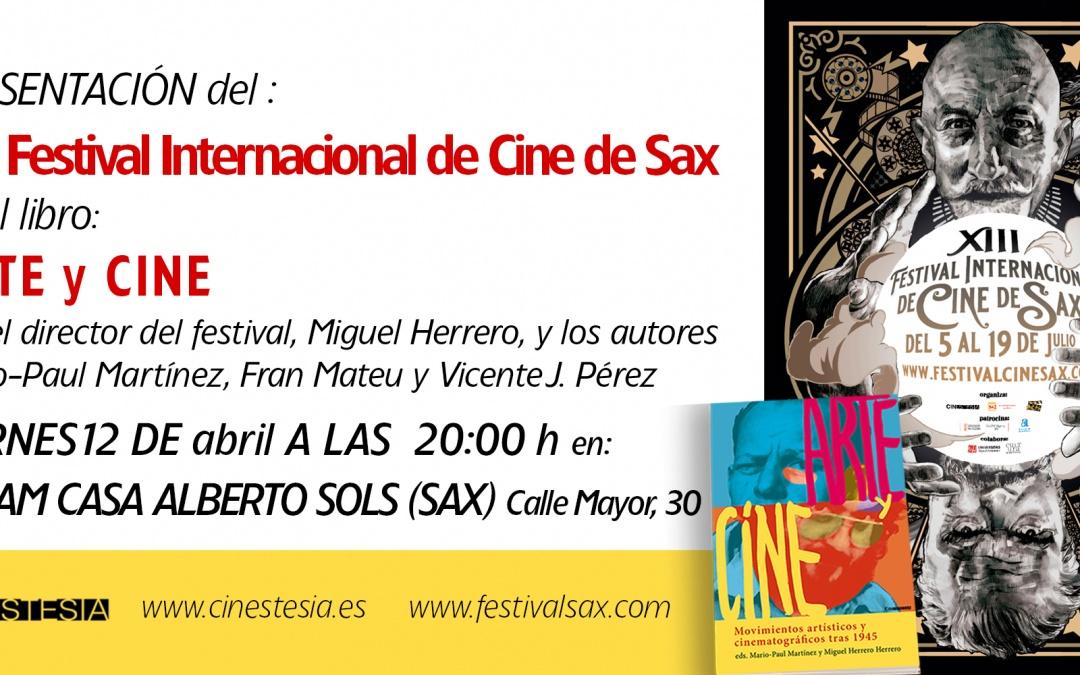 Presentación del XIII Festival Internacional de Cine de Sax
