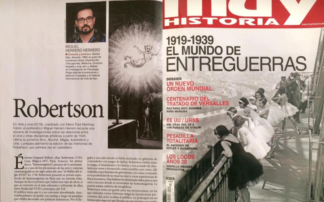 Escribimos para el nuevo número de las revista Muy Historia