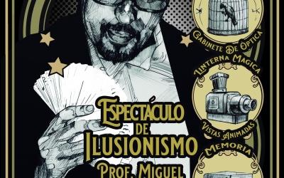Entradas ya a la venta para el espectáculo Ilusionismo XIX de Miguel Herrero Herrero