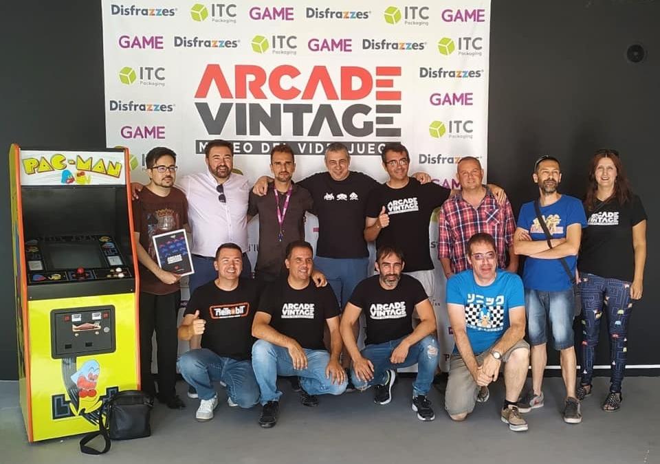 Próximos proyectos con Arcade Vintage Museo del Videojuego en Ibi (Alicante).