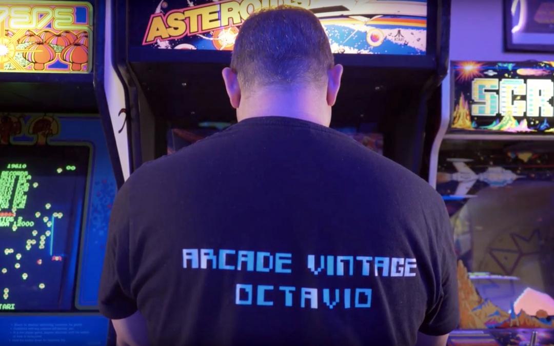 """Presentamos el teaser del largometraje """"Arcadeología"""" de Mario-Paul Martínez."""
