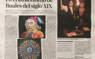 Somos portada de Cultura del diario Información
