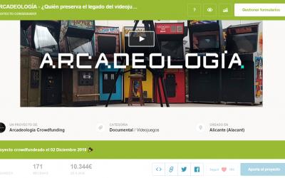 """¡Conseguimos el crowdfunding de la película """"Arcadeología""""!"""