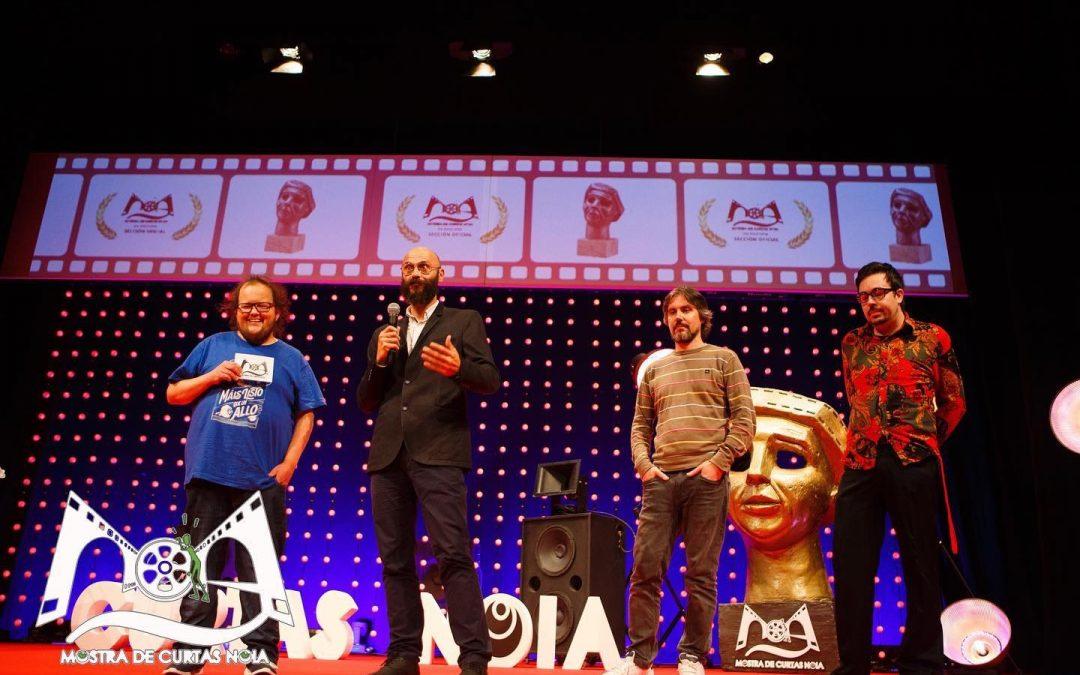 """Asistimos como invitados con """"Mi nombre es Koji"""" al Festival de Noia (La Coruña)."""