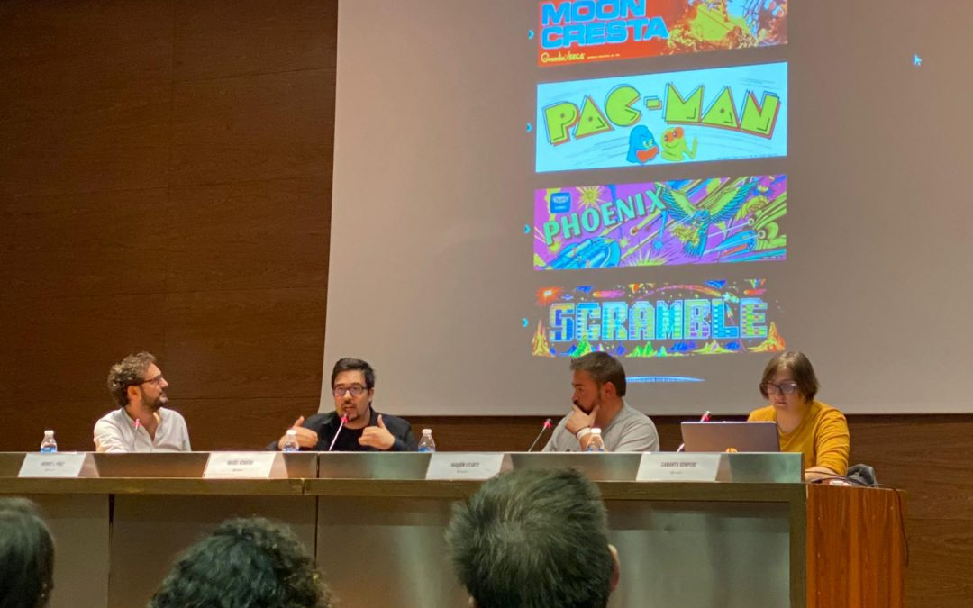 """Presentamos las primeras imágenes de """"Arcadeología"""" en el V Video Game Comic de Alicante."""