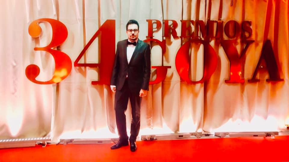 Asistimos como invitados a los Premios Goya