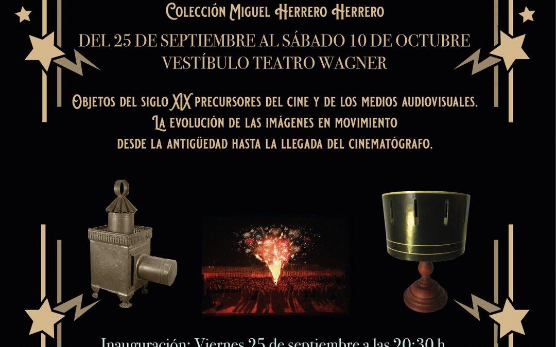 """Exposición """"Artilugios para ilusionar"""" de Miguel Herrero Herrero del 25 de septiembre al 10 de octubre"""